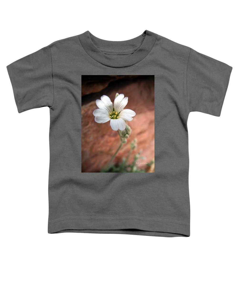 Alpine Toddler T-Shirt featuring the photograph Mountain Beauty by RC DeWinter