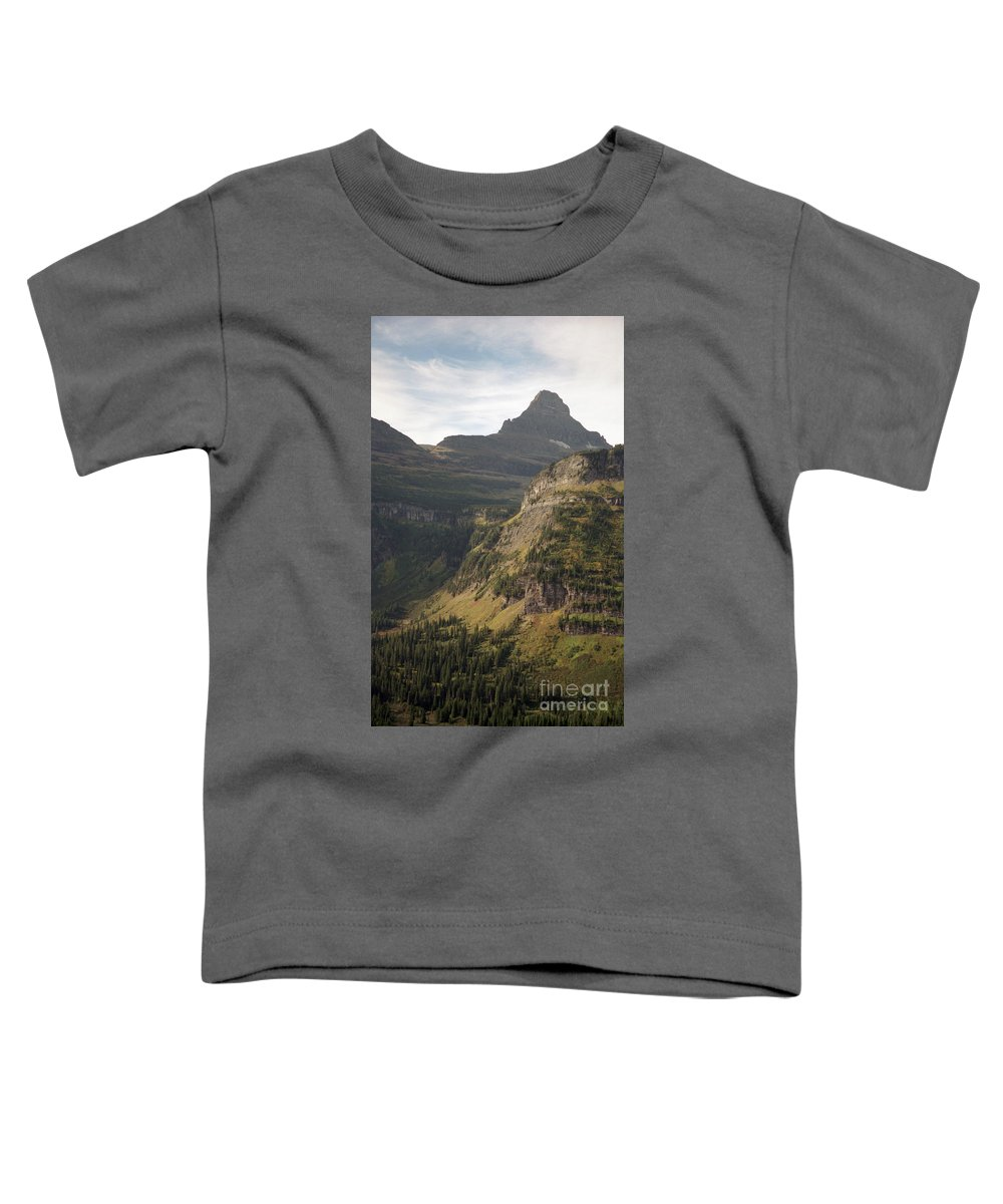 Glacier Toddler T-Shirt featuring the photograph Mountain Glacier by Richard Rizzo