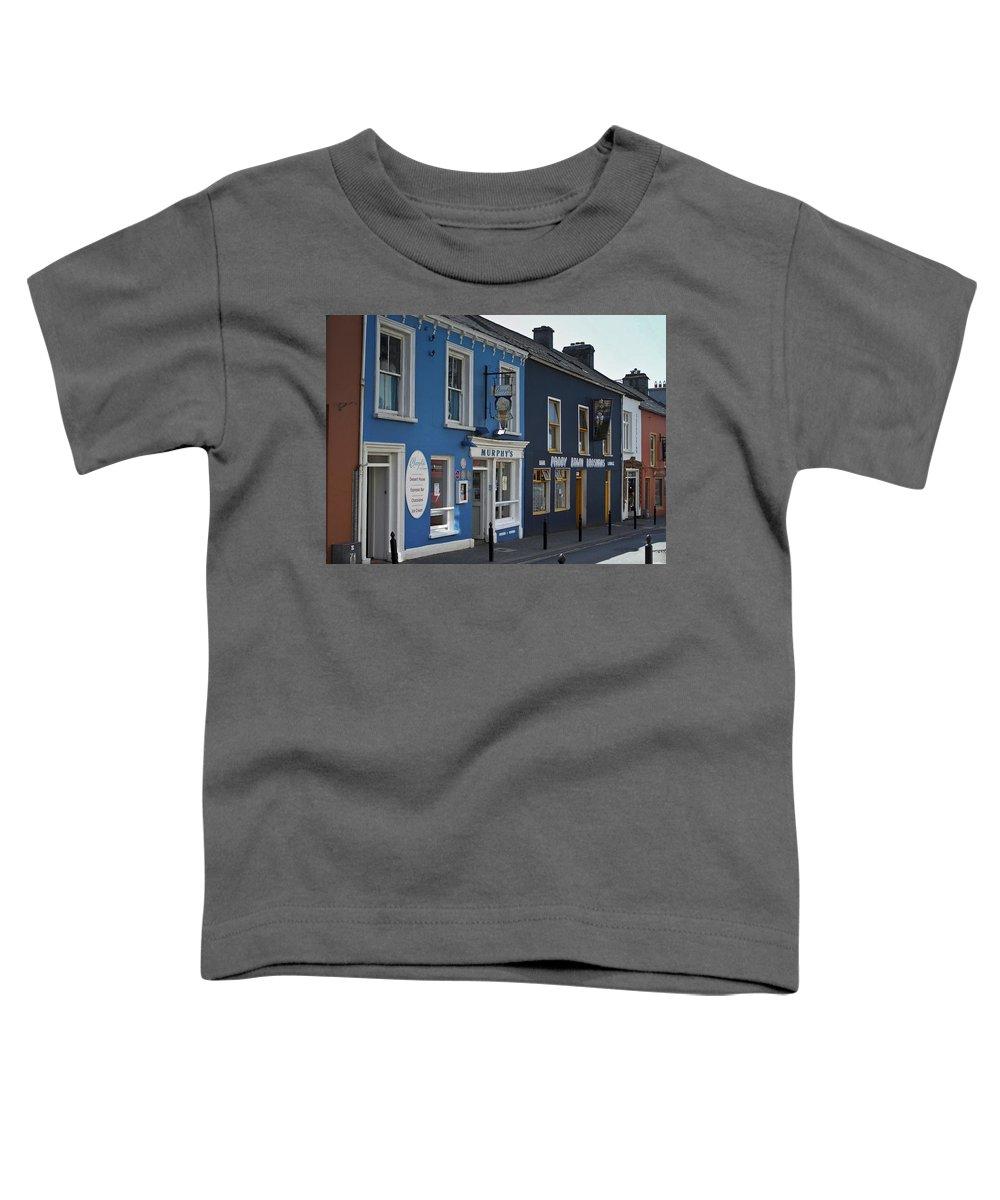 Irish Toddler T-Shirt featuring the photograph Murphys Ice Cream Dingle Ireland by Teresa Mucha