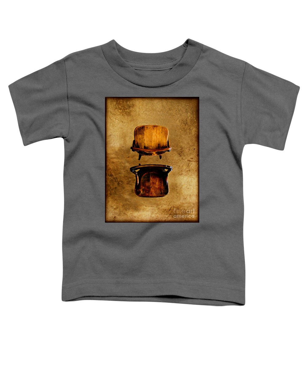 Concrete Toddler T-Shirt featuring the photograph My Arms Were Around You And I Hoped That You Wouldnt Hurt Me by Dana DiPasquale