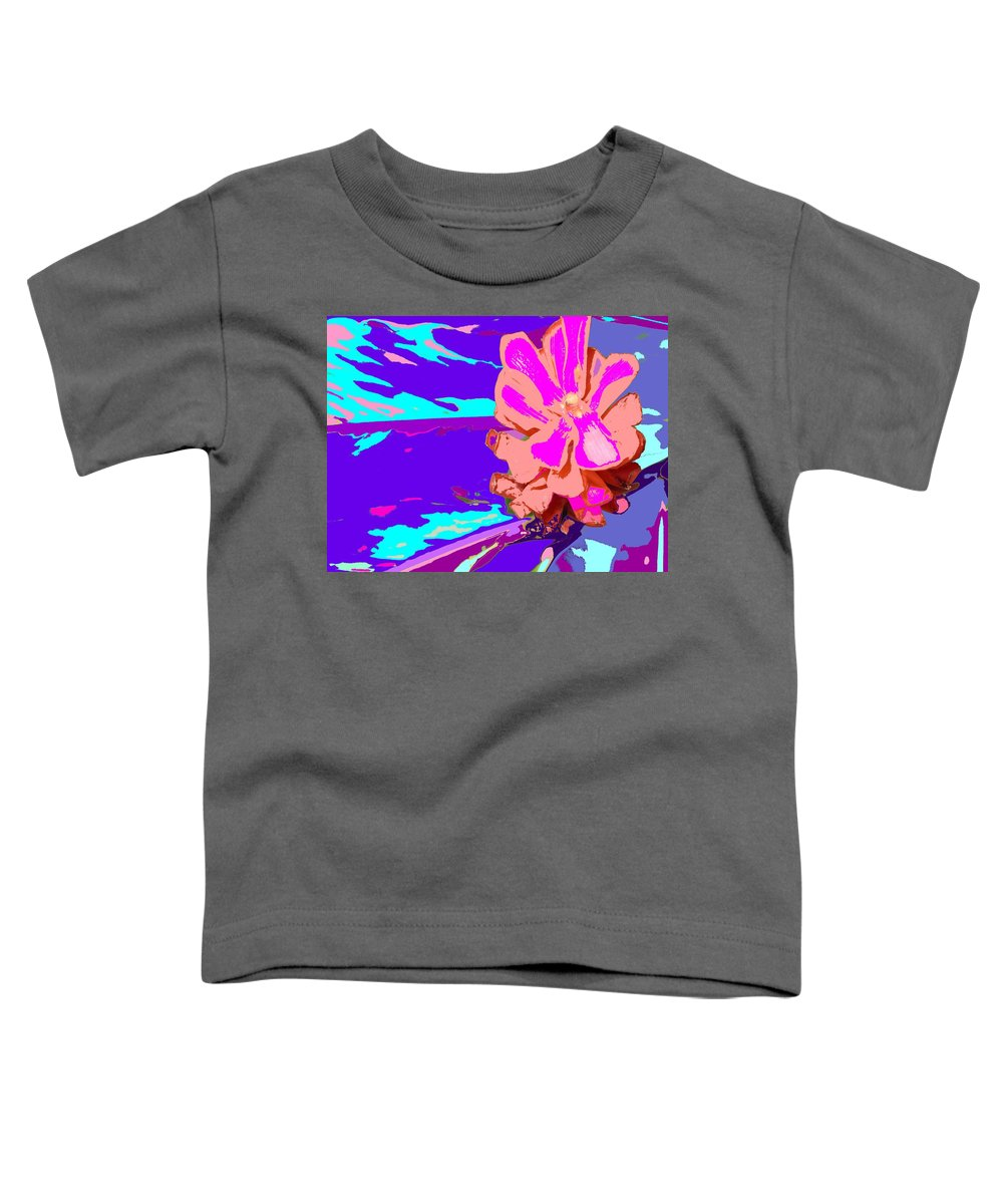 Flower Toddler T-Shirt featuring the photograph Mystical Flower by Ian MacDonald