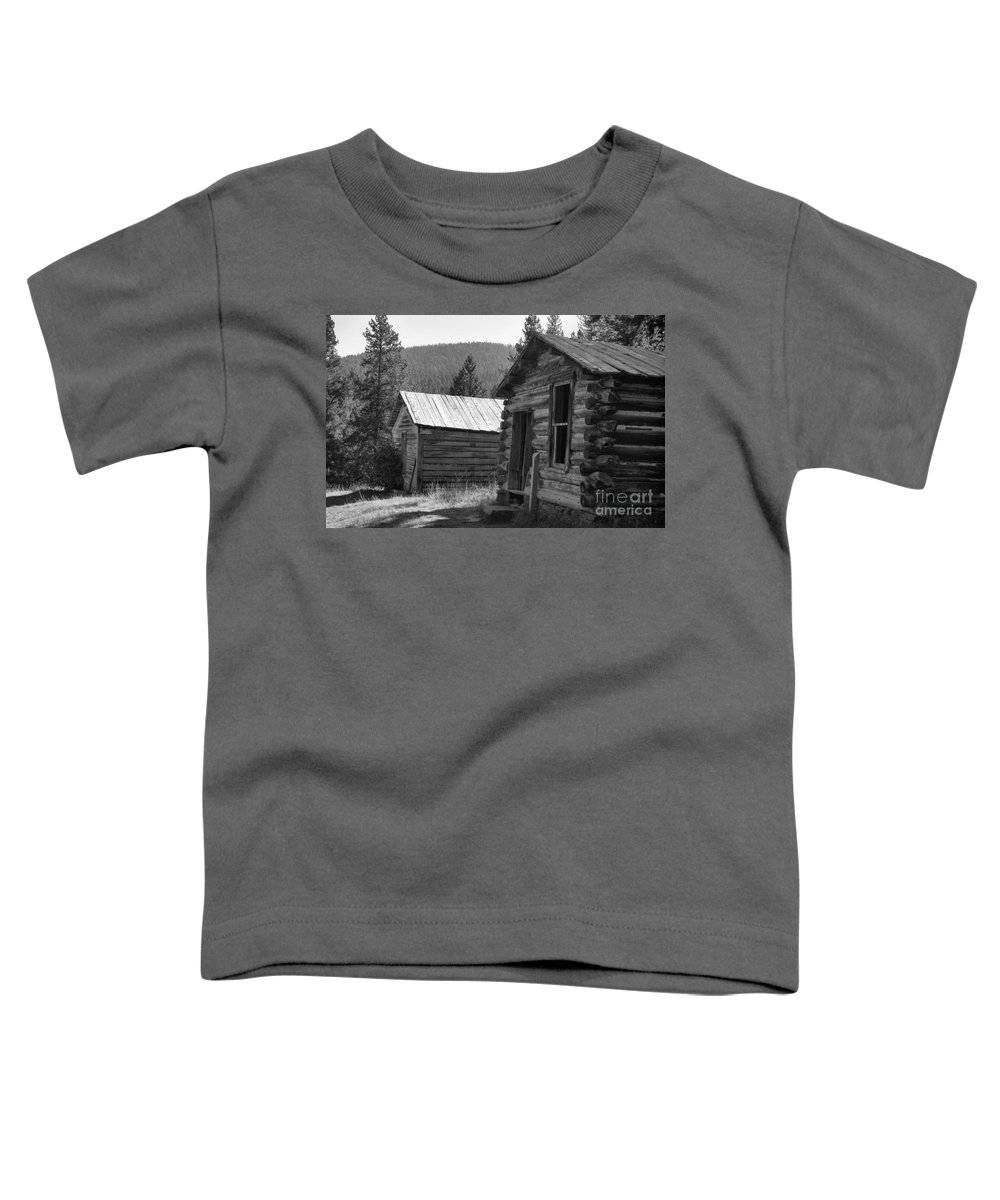 Abandoned Toddler T-Shirt featuring the photograph Neighbors by Richard Rizzo