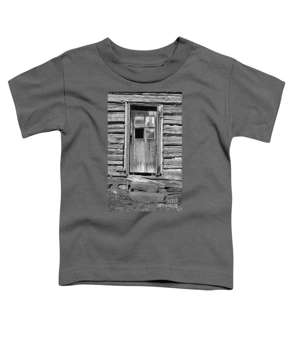 Aged Toddler T-Shirt featuring the photograph Old Door by Richard Rizzo