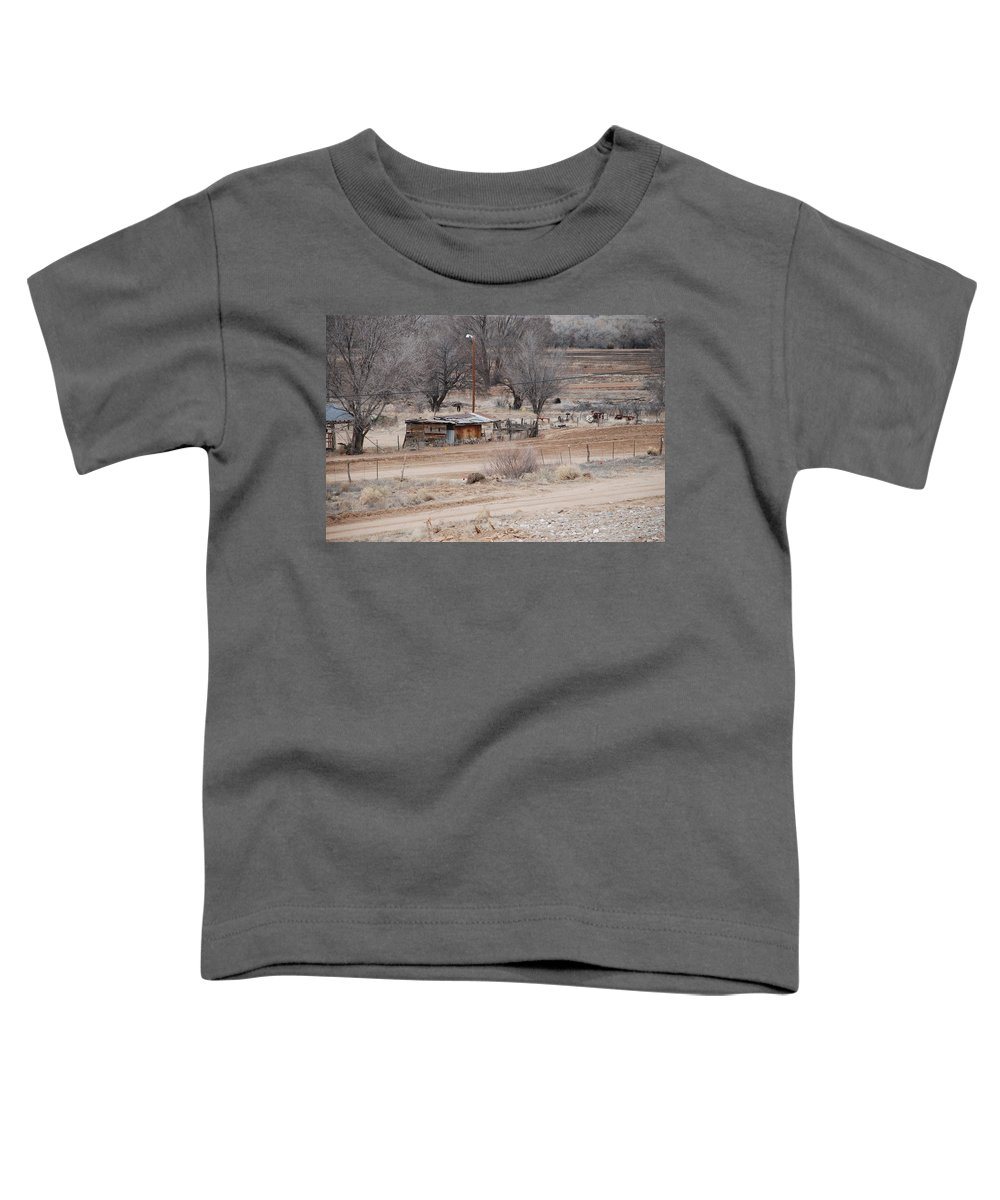 House Toddler T-Shirt featuring the photograph Old Ranch House by Rob Hans