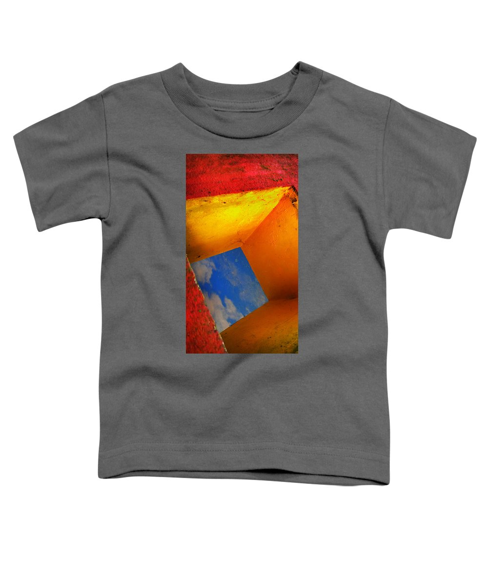 Skip Hunt Toddler T-Shirt featuring the photograph Over The Rainbow by Skip Hunt