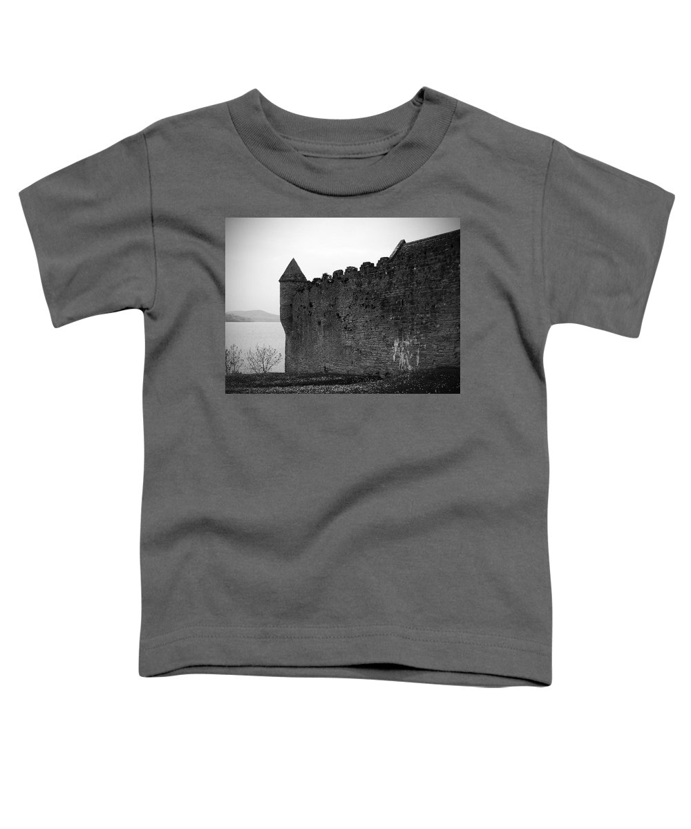 Ireland Toddler T-Shirt featuring the photograph Parkes Castle County Leitrim Ireland by Teresa Mucha