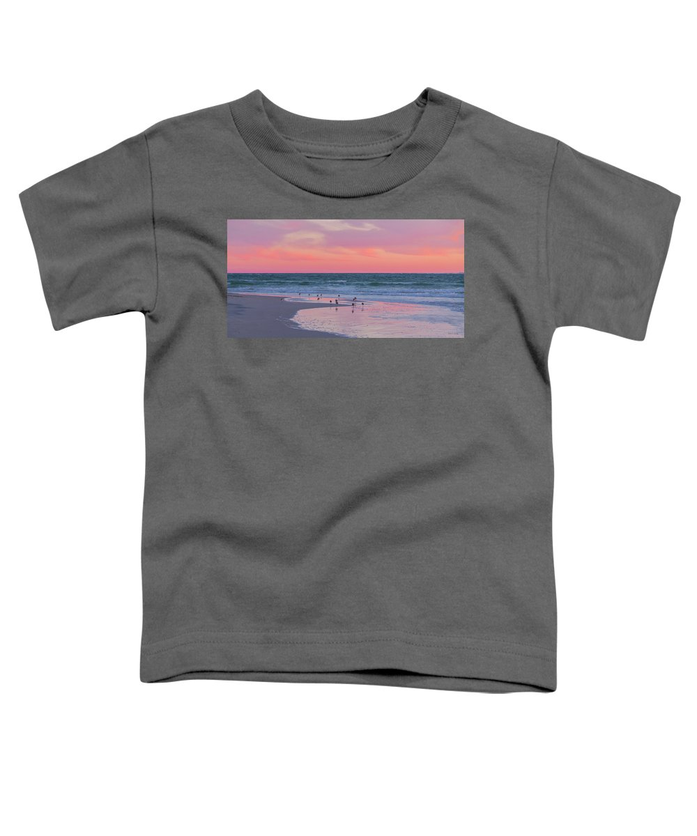 Sunset Toddler T-Shirt featuring the photograph Peaceful Witnesses by Betsy Knapp
