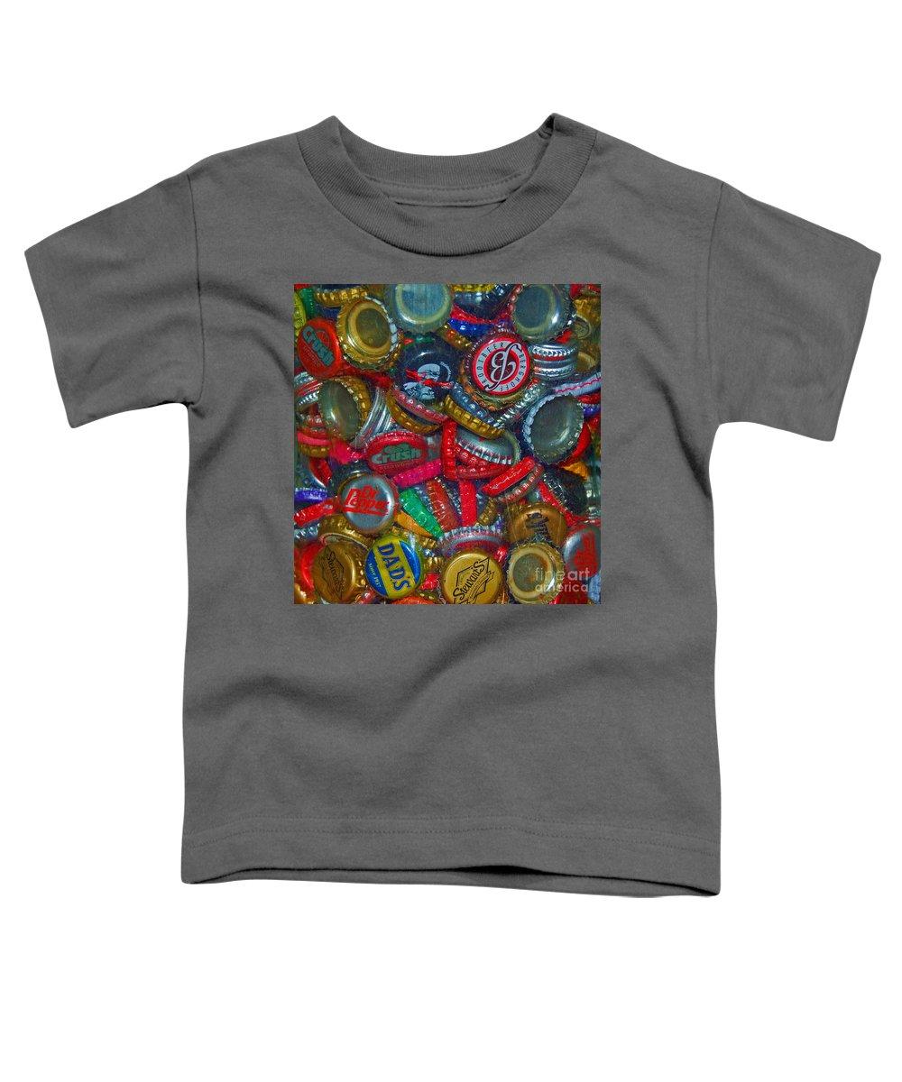 Bottles Toddler T-Shirt featuring the photograph Pop Art by Debbi Granruth