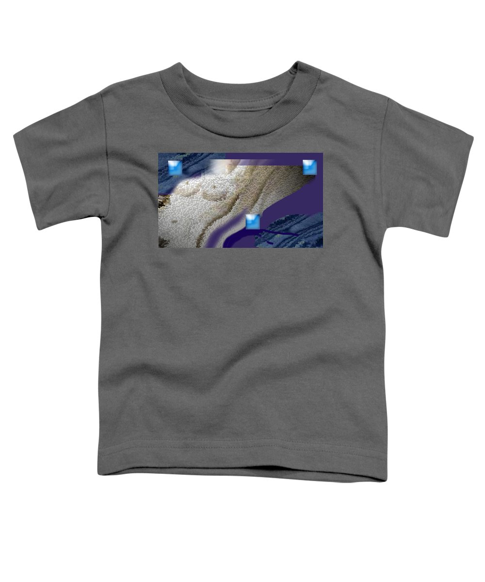 Abstract Toddler T-Shirt featuring the digital art Prelude To A Dream by Steve Karol