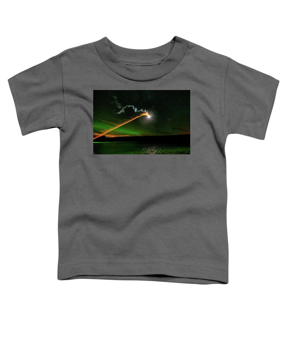 Abstract Toddler T-Shirt featuring the photograph Presence by Doug Gibbons