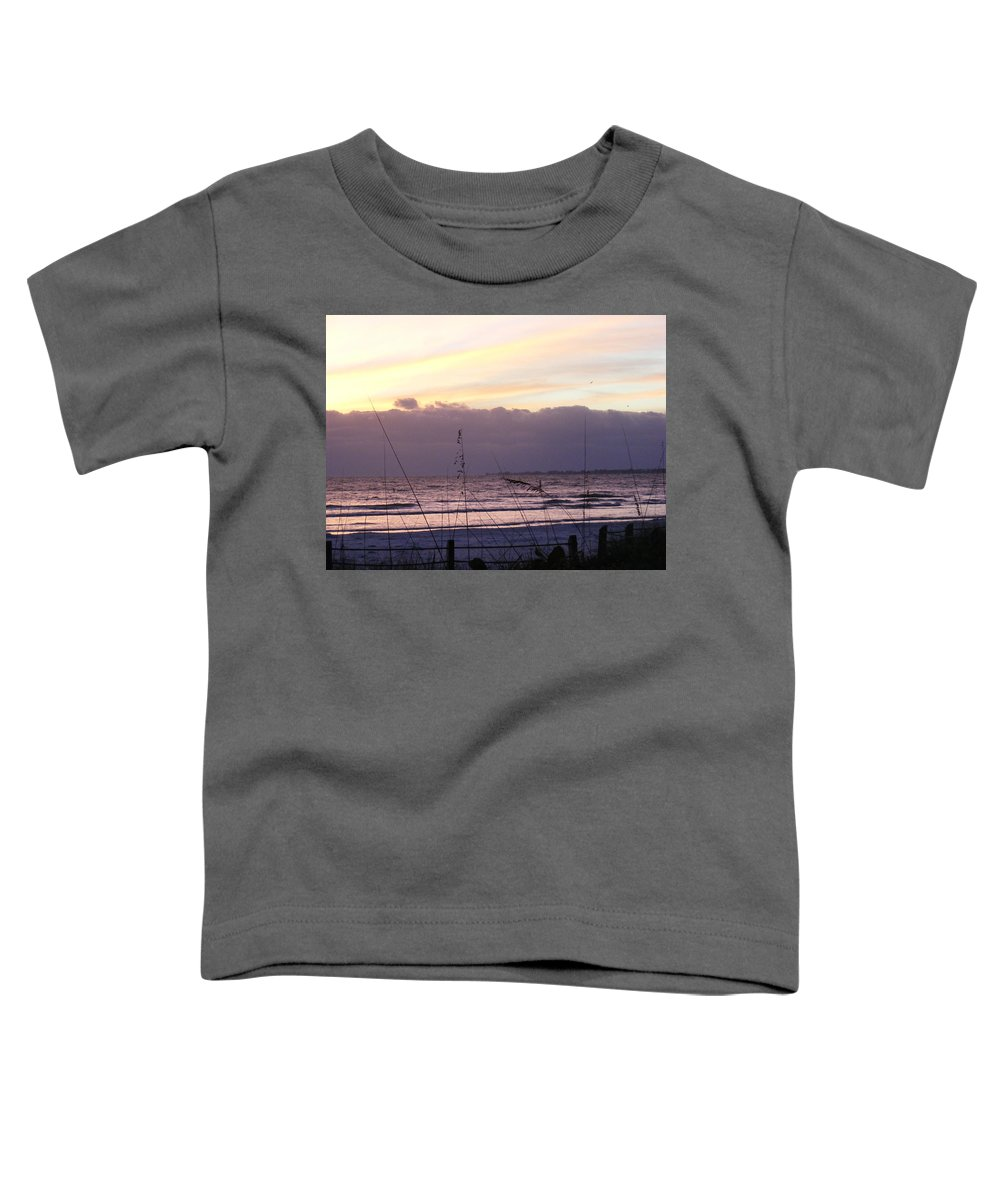 Landscape Toddler T-Shirt featuring the photograph Purple Haze by Ed Smith