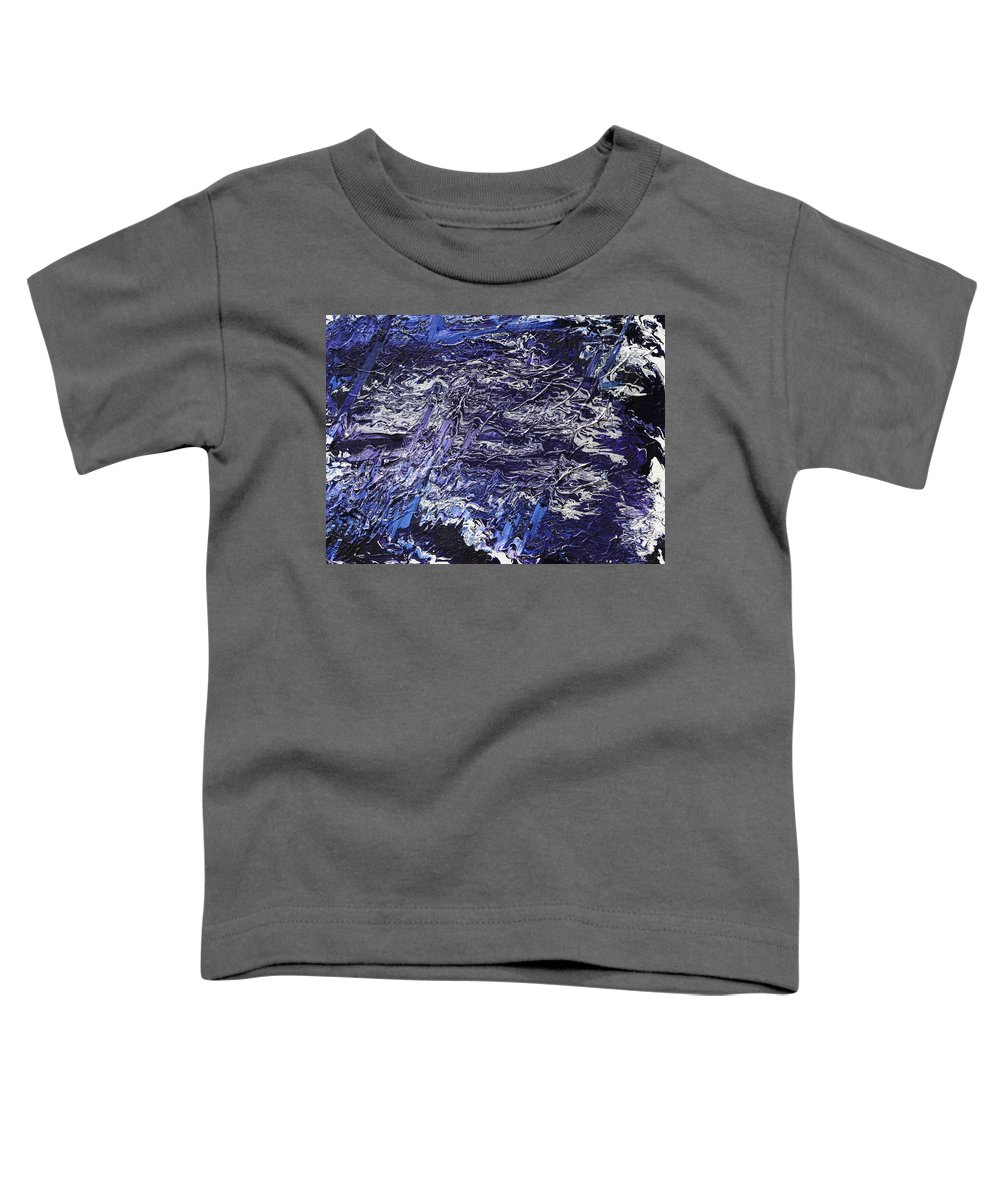 Fusionart Toddler T-Shirt featuring the painting Rapid by Ralph White