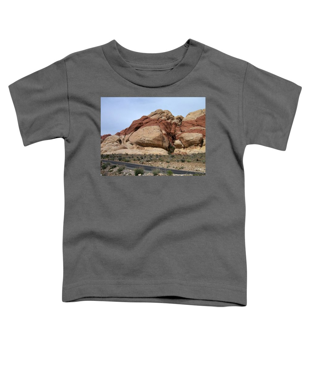 Red Rock Canyon Toddler T-Shirt featuring the photograph Red Rock Canyon 2 by Anita Burgermeister