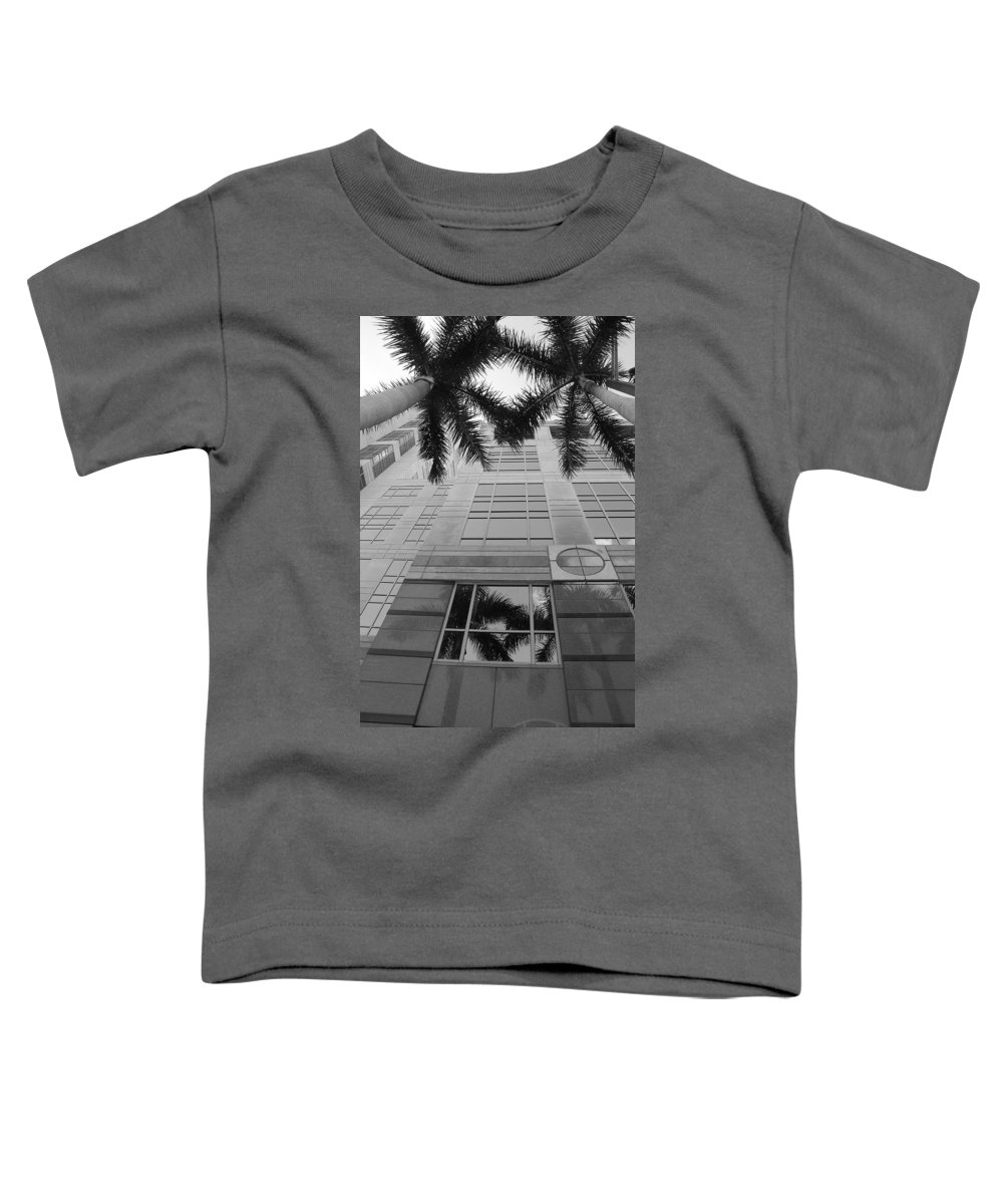 Architecture Toddler T-Shirt featuring the photograph Reflections On The Building by Rob Hans