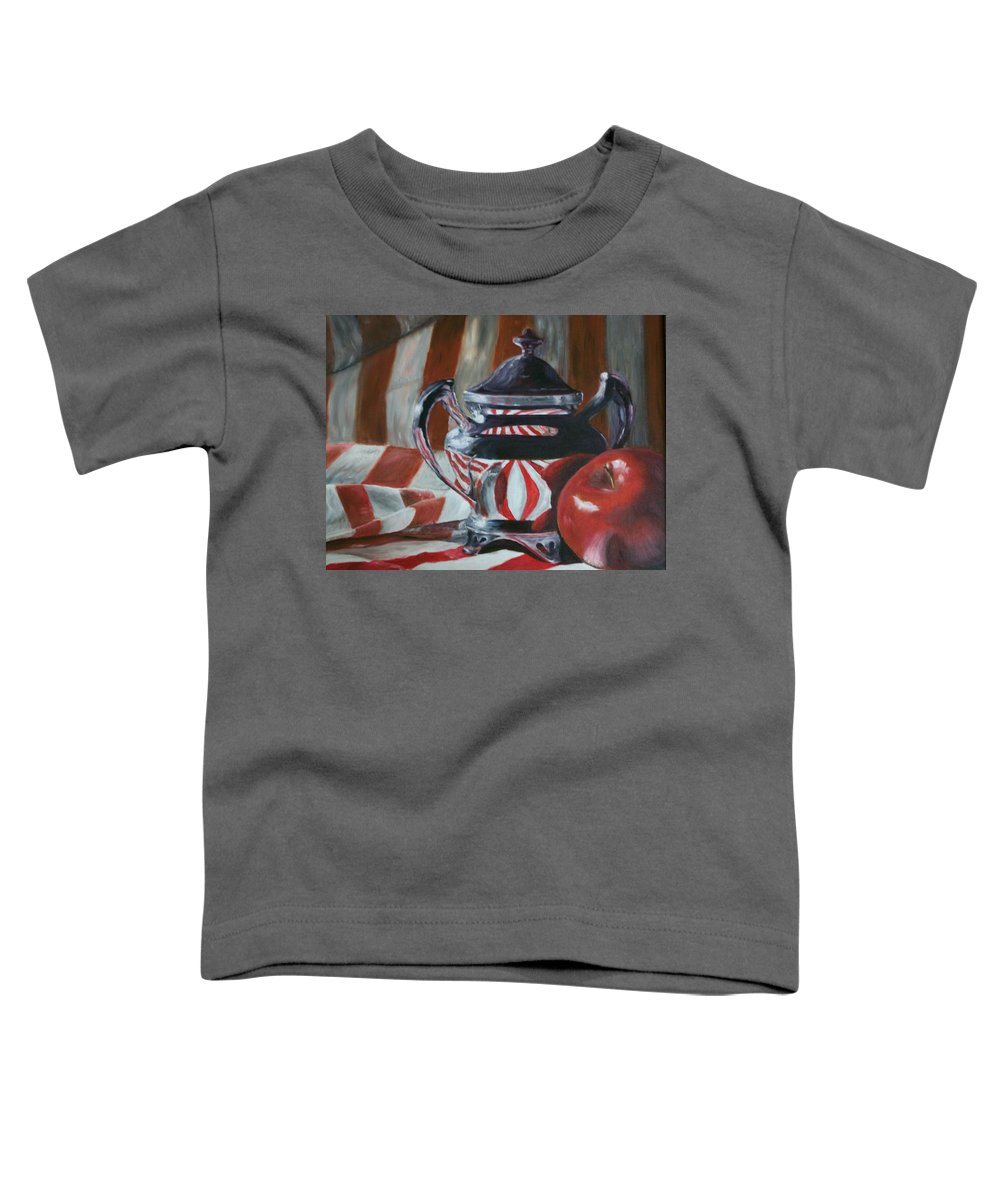 Still Life Toddler T-Shirt featuring the painting Reflections by Stephen King