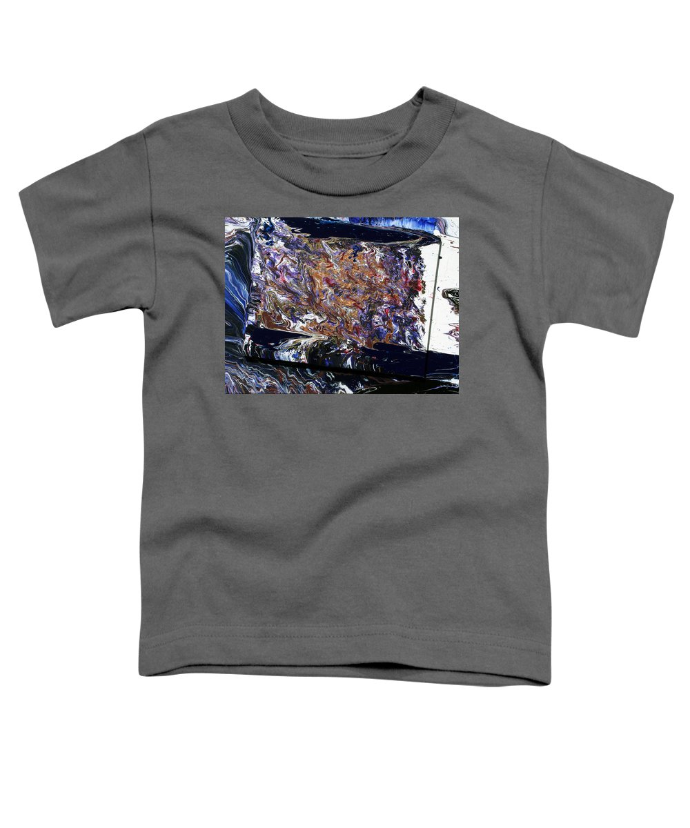 Fusionart Toddler T-Shirt featuring the painting Revolution by Ralph White