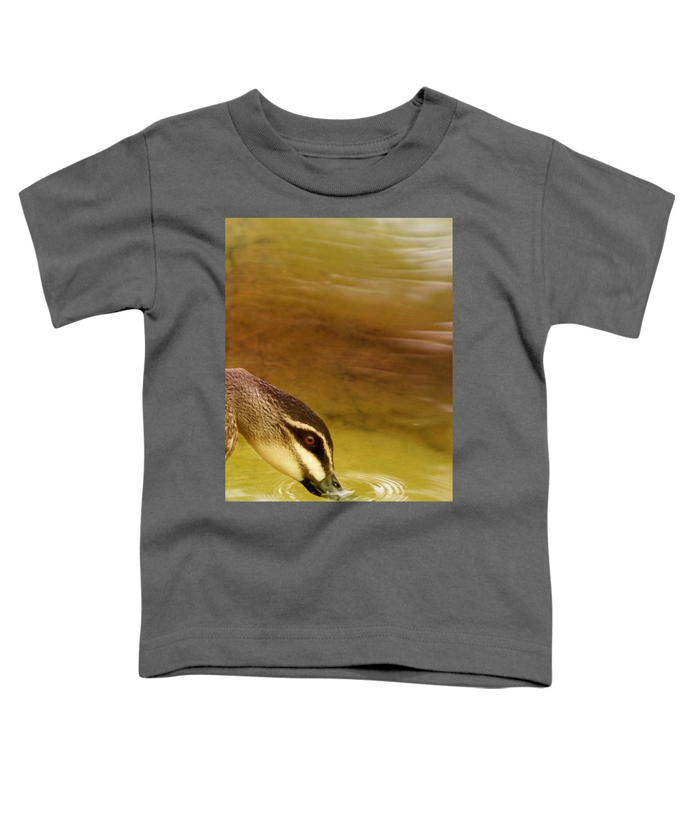 Animals Toddler T-Shirt featuring the photograph Ripples by Holly Kempe
