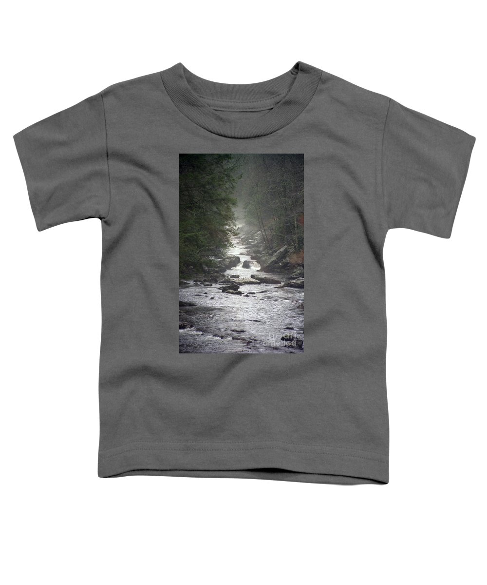 River Toddler T-Shirt featuring the photograph River Run by Richard Rizzo