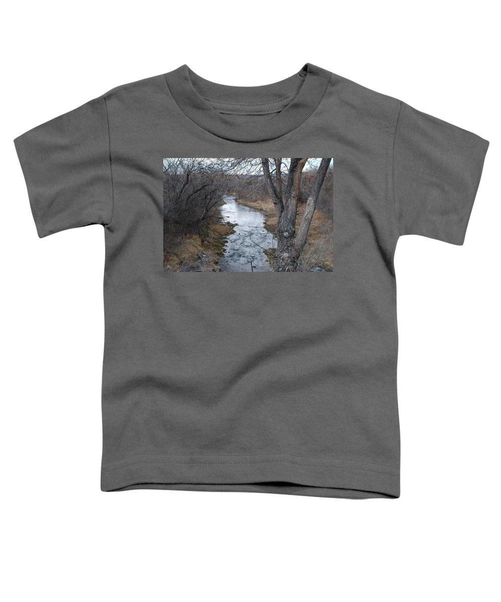 Santa Fe Toddler T-Shirt featuring the photograph Santa Fe River by Rob Hans