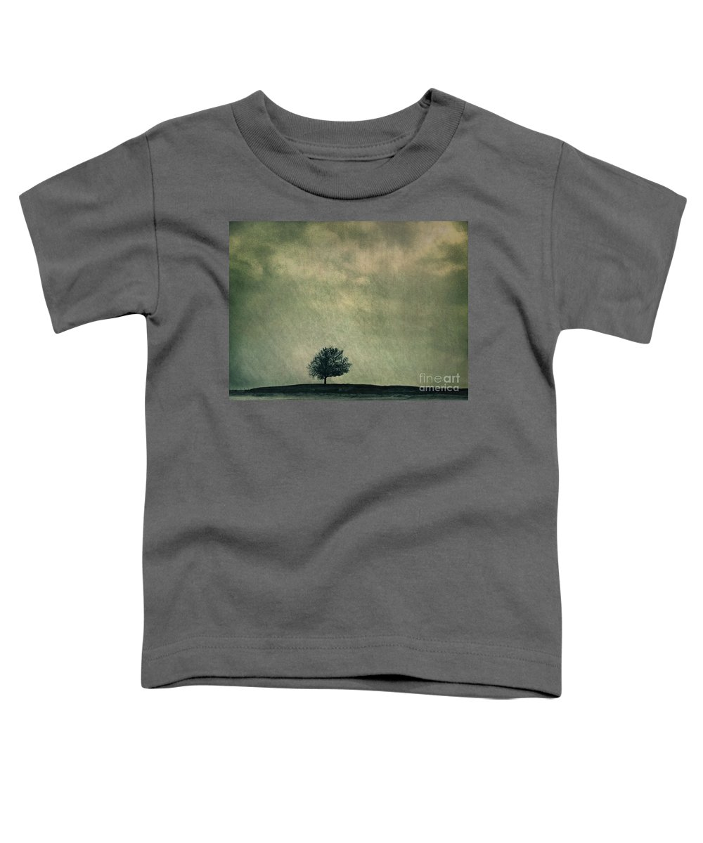Blue Toddler T-Shirt featuring the photograph Screaming At The Top Of My Voice by Dana DiPasquale