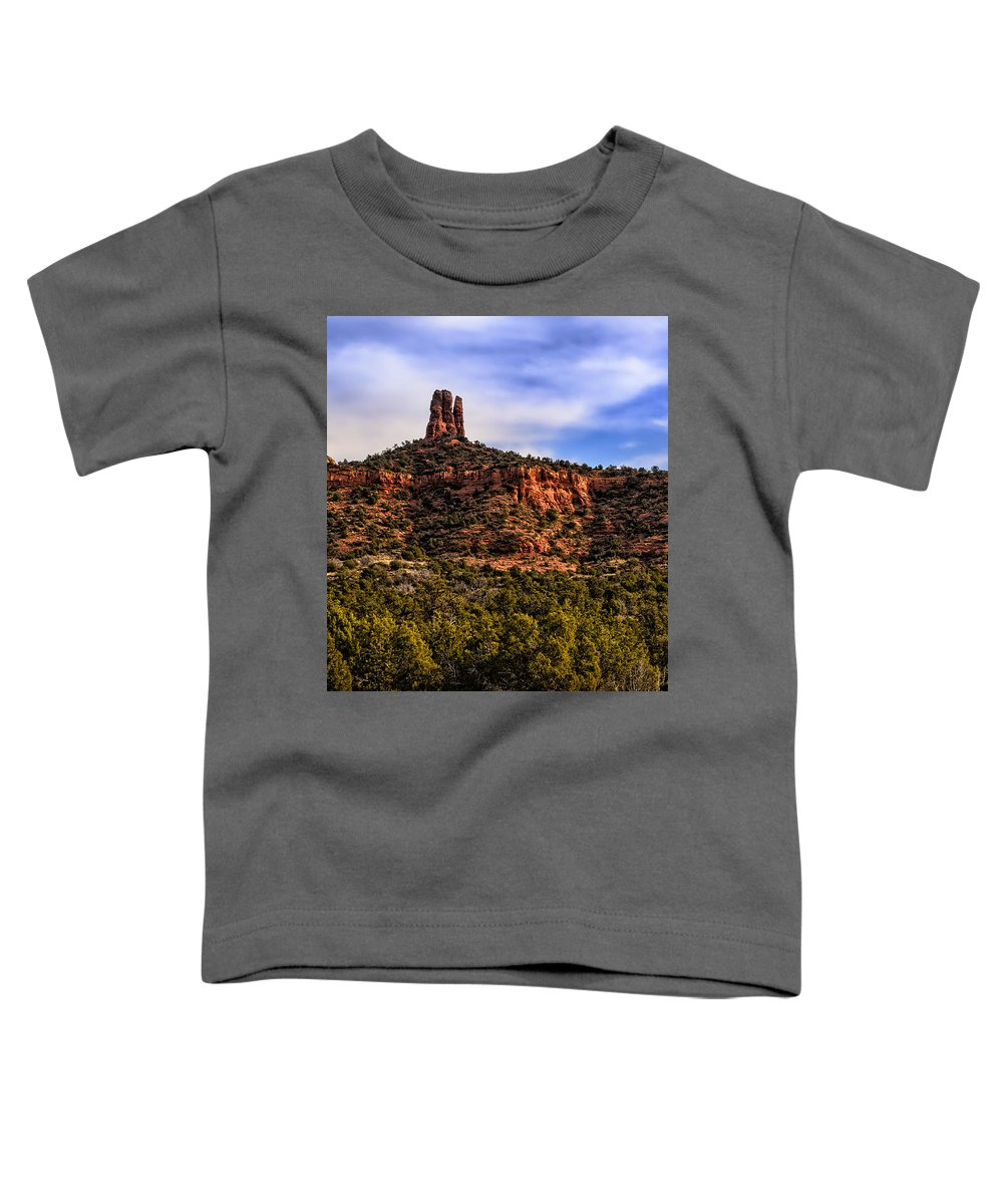 Arizona Toddler T-Shirt featuring the photograph Sedona Morning 21 by Mark Myhaver