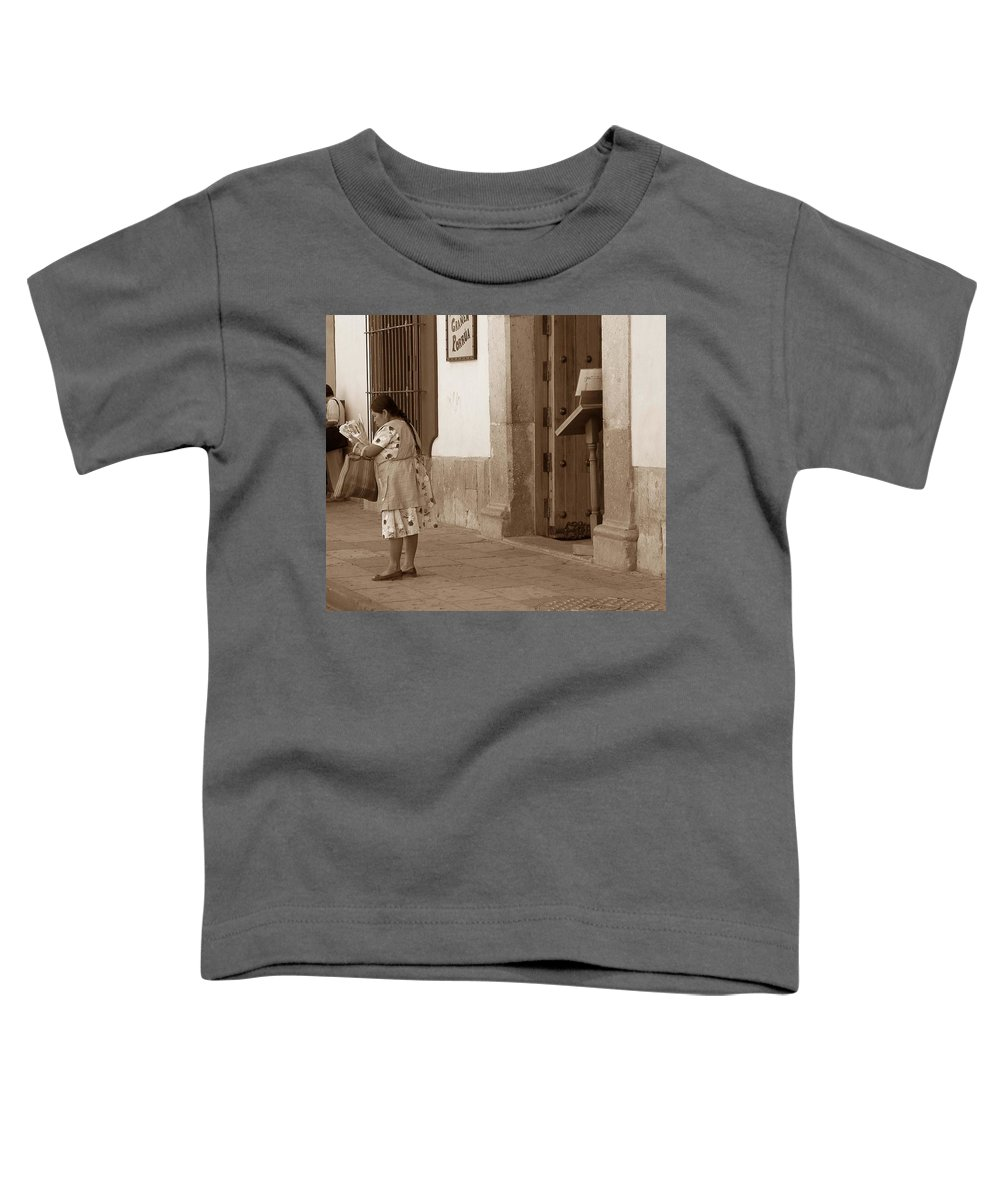 Charity Toddler T-Shirt featuring the photograph Senora by Mary-Lee Sanders