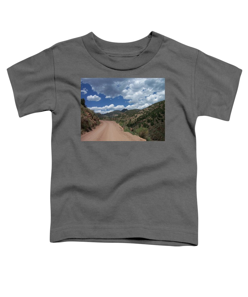 Shelf Road Toddler T-Shirt featuring the photograph Shelf Road by Anita Burgermeister