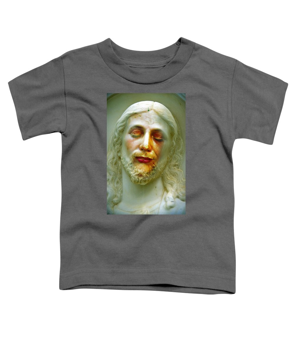 Jesus Toddler T-Shirt featuring the photograph Shesus by Skip Hunt