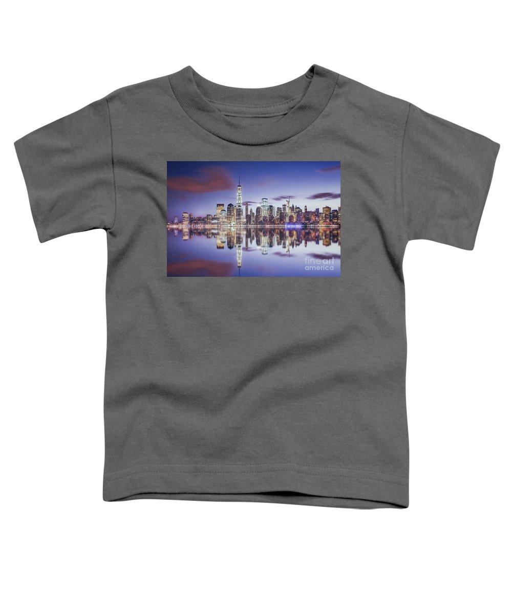 Kremsdorf Toddler T-Shirt featuring the photograph Shine Through The Night by Evelina Kremsdorf