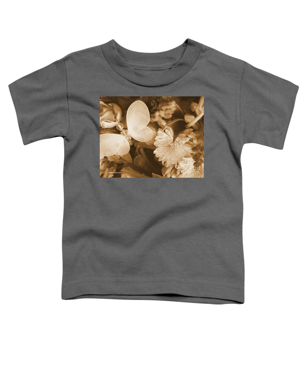 Photography Enhanced Toddler T-Shirt featuring the photograph Silent Transformation Of Existence by Shelley Jones