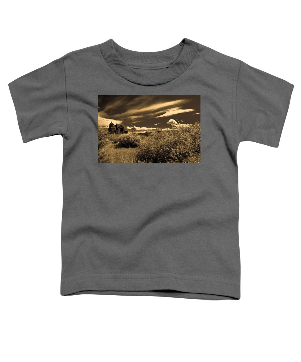 Church Toddler T-Shirt featuring the photograph Small Town Church by Marilyn Hunt