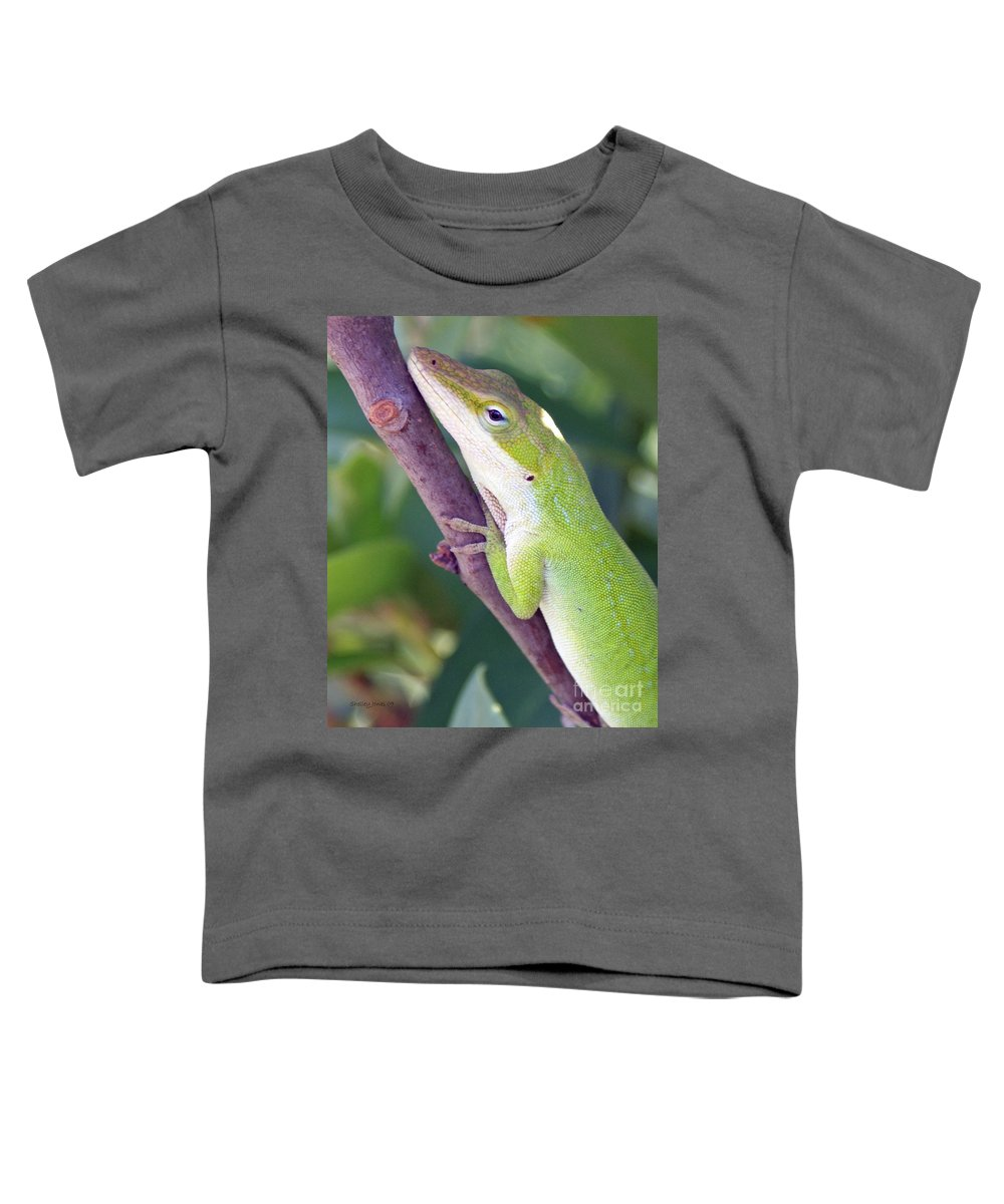 Animal Toddler T-Shirt featuring the photograph Smile by Shelley Jones