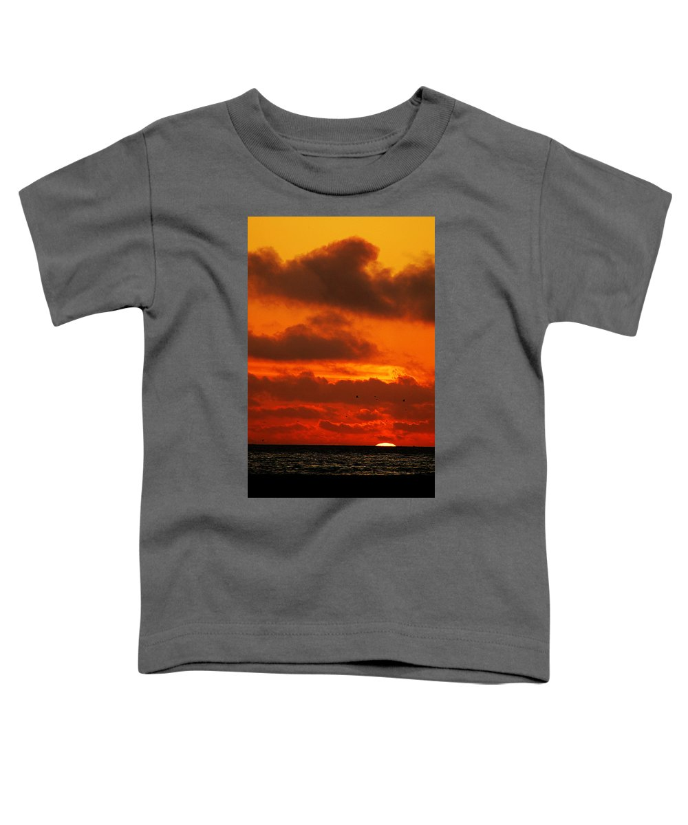 Clay Toddler T-Shirt featuring the photograph Socal Sunset by Clayton Bruster