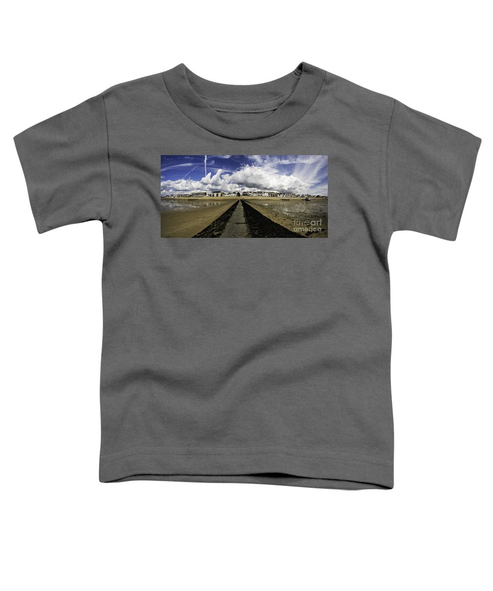 Southend On Sea Toddler T-Shirt featuring the photograph Southend On Sea Panorama by Avalon Fine Art Photography