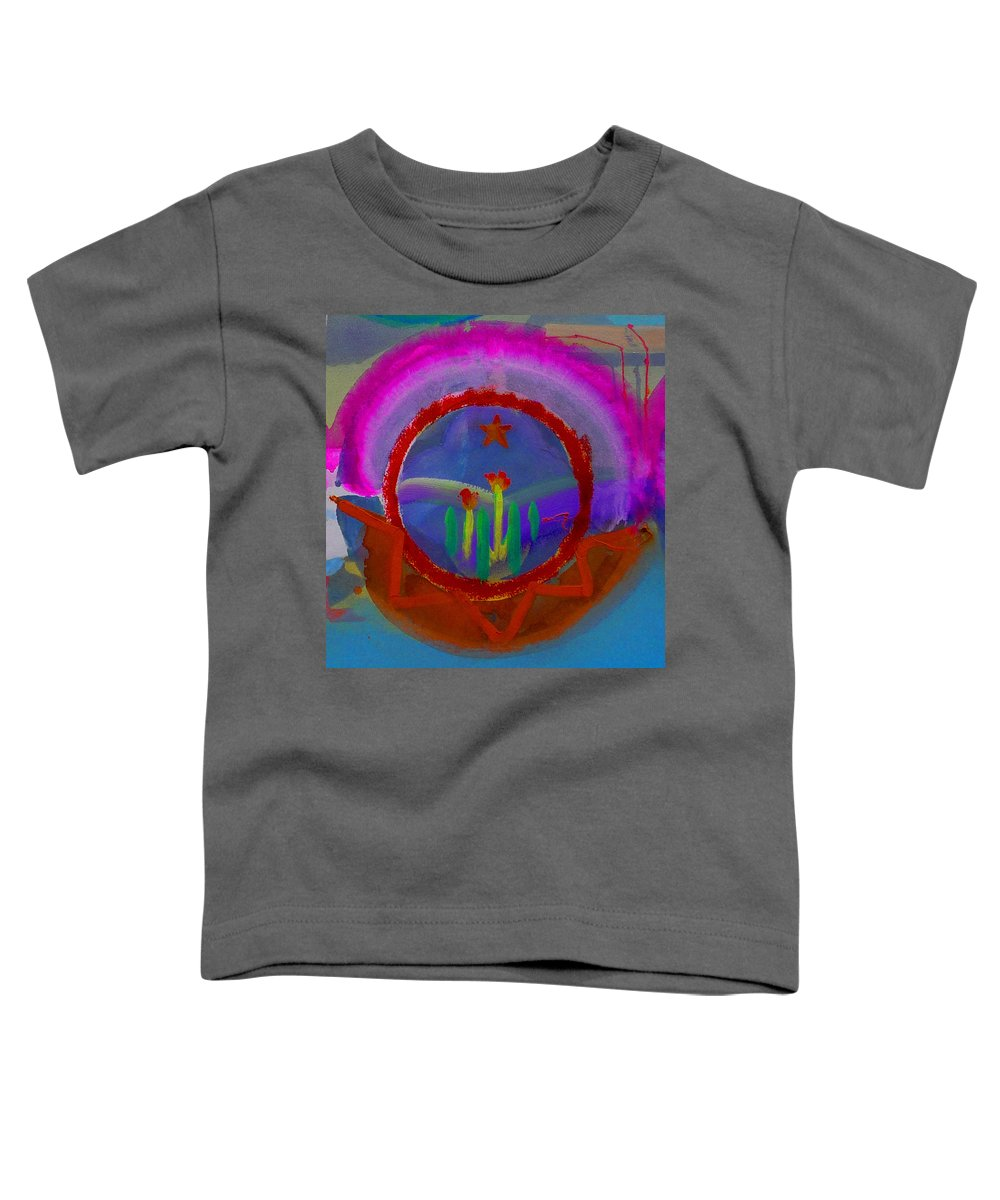 Love Toddler T-Shirt featuring the painting Spanish America by Charles Stuart