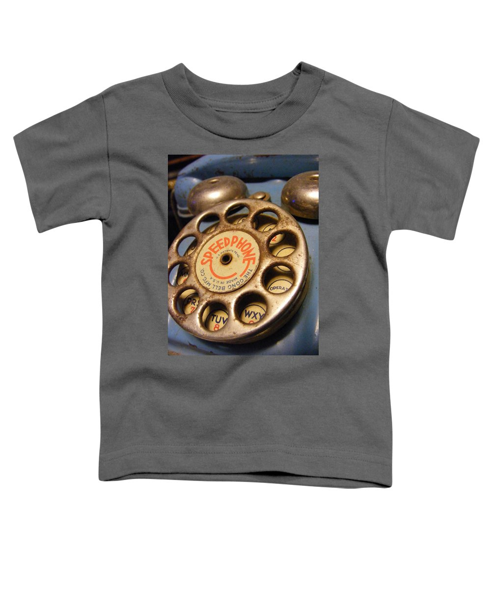 Phone Toddler T-Shirt featuring the photograph Speed Phone by Ed Smith
