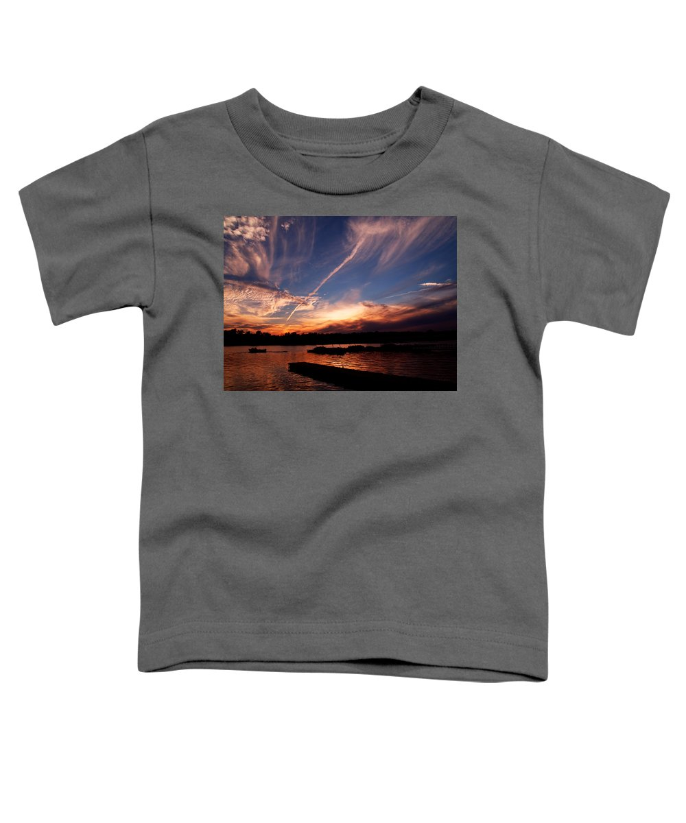 Sky Toddler T-Shirt featuring the photograph Spirits In The Sky by Gaby Swanson