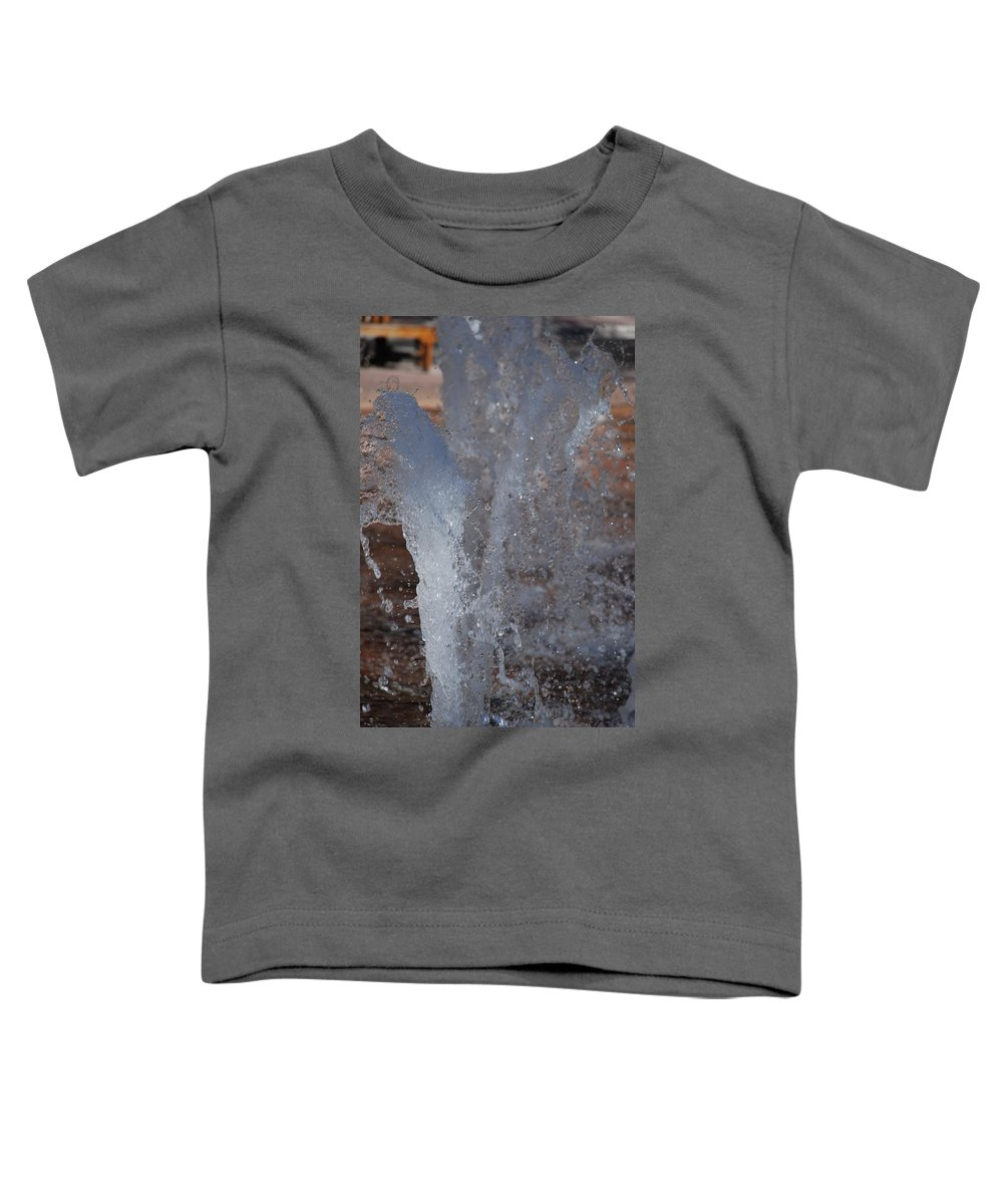 Water Toddler T-Shirt featuring the photograph Splash by Rob Hans