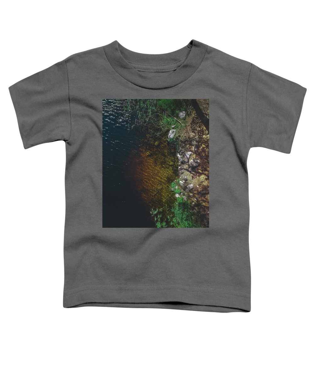 Nordic Toddler T-Shirt featuring the photograph Summer Lake - Aerial Photography by Nicklas Gustafsson