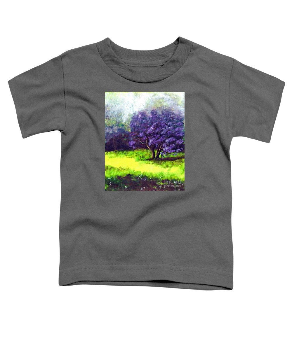 Fine Art Print Toddler T-Shirt featuring the painting Summer Mist by Patricia Griffin Brett