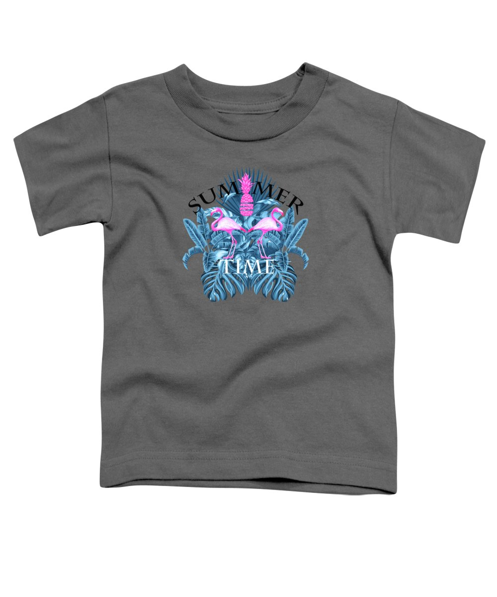Animals Toddler T-Shirt featuring the photograph Summer Time Tropical by Mark Ashkenazi