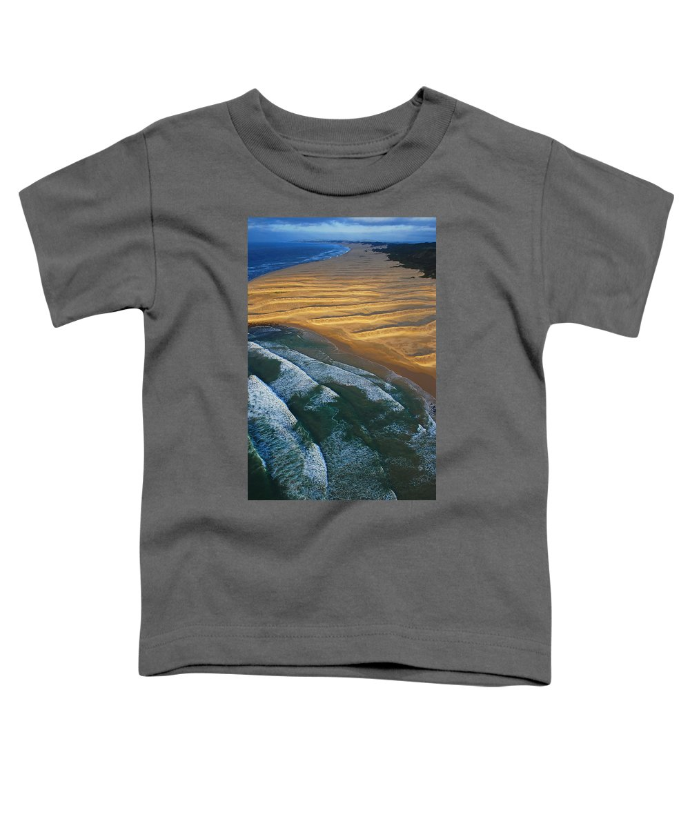 Coast Toddler T-Shirt featuring the photograph Sun Rise Coast by Skip Hunt
