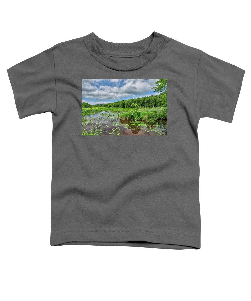 Sunday Toddler T-Shirt featuring the photograph Sunday Drive by Steve Schaum