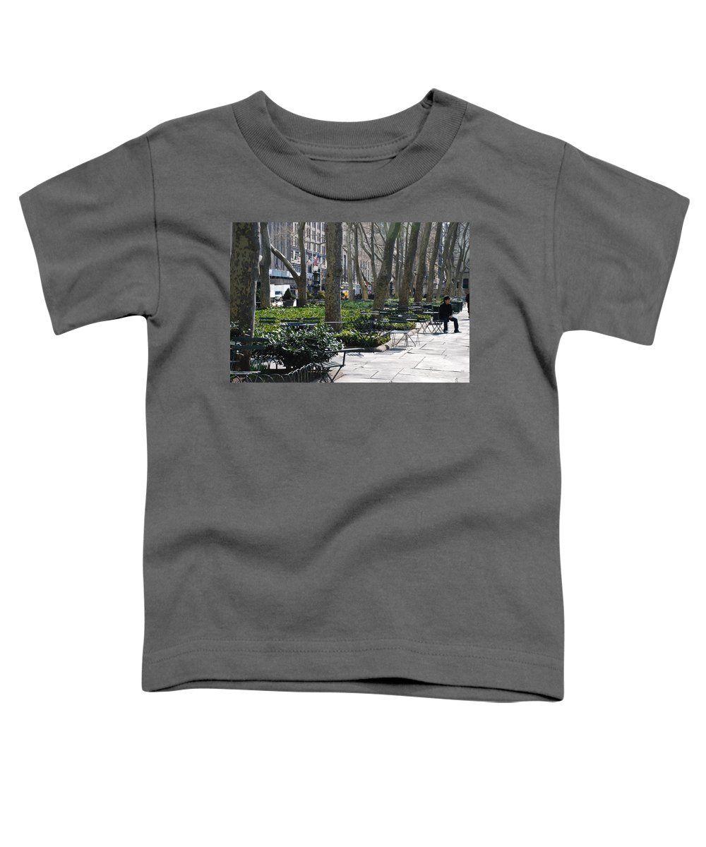 Parks Toddler T-Shirt featuring the photograph Sunny Morning In The Park by Rob Hans