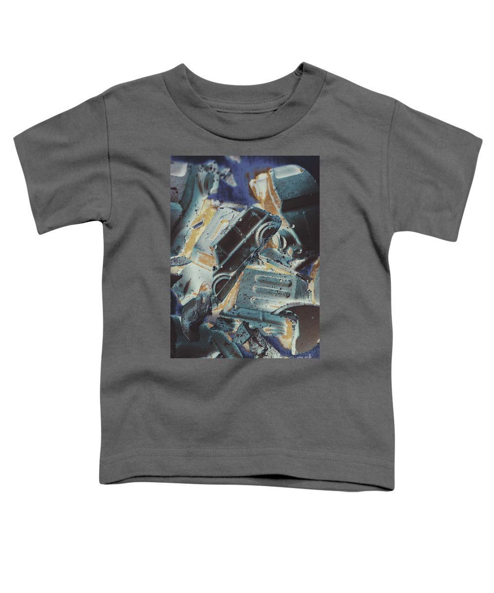 Abstract Toddler T-Shirt featuring the photograph Sweet Destruction by Jorgo Photography - Wall Art Gallery
