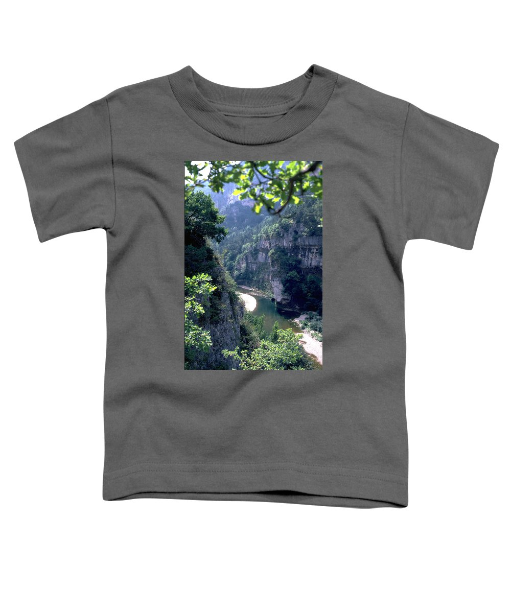 France Toddler T-Shirt featuring the photograph Tarn by Flavia Westerwelle