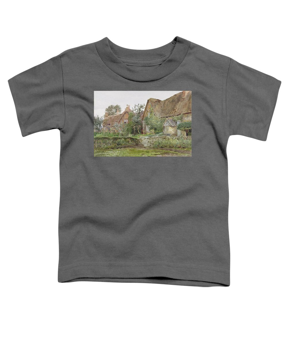 Thatched Roof Toddler T-Shirts