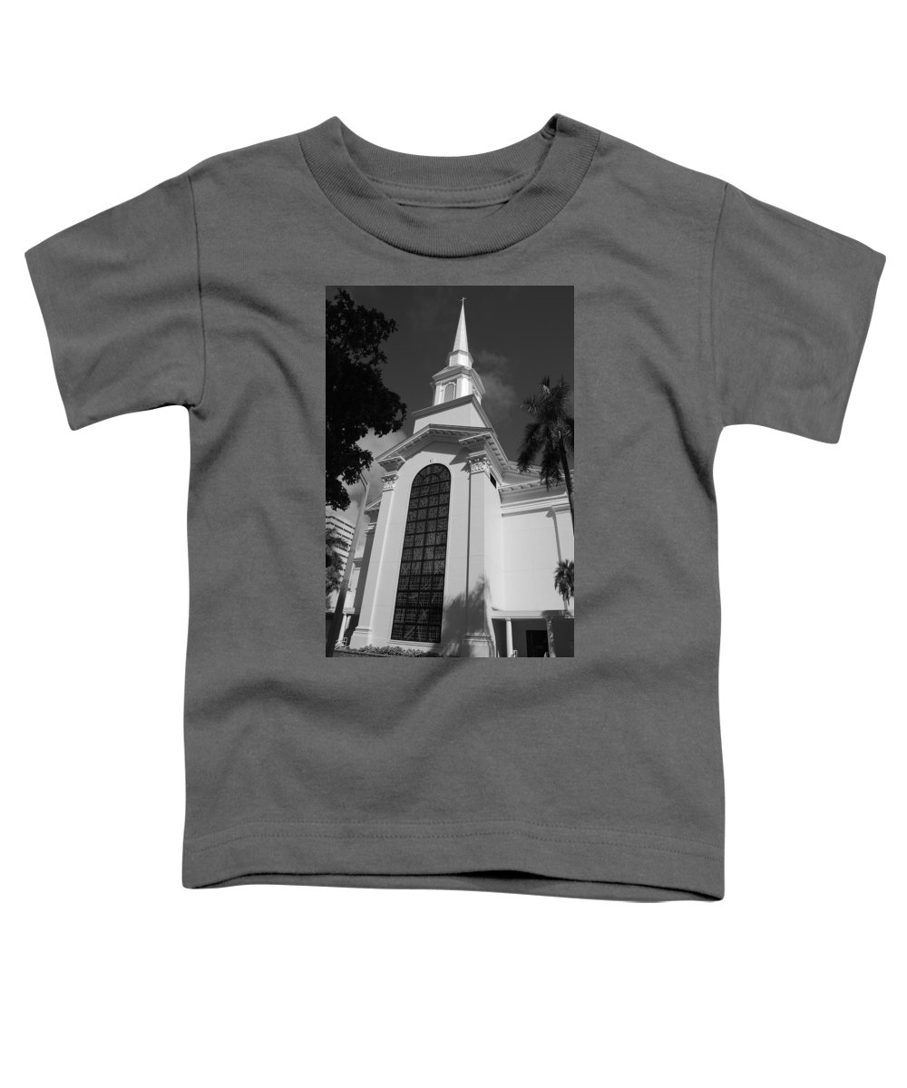Architecture Toddler T-Shirt featuring the photograph Thats Church by Rob Hans