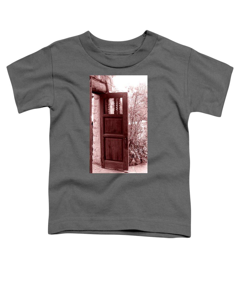Door Toddler T-Shirt featuring the photograph The Door by Wayne Potrafka