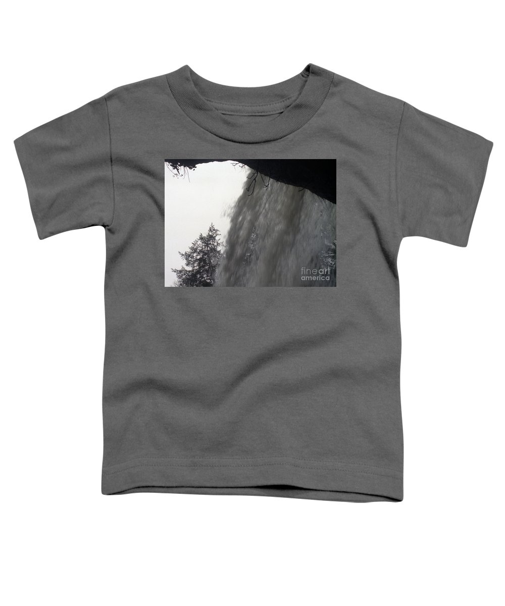 Waterfalls Toddler T-Shirt featuring the photograph The Falls by Richard Rizzo